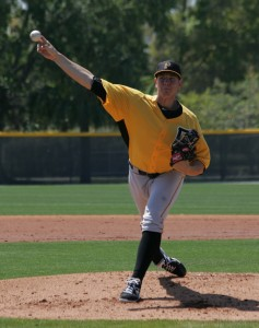 Nick Kingham threw eight shutout innings in his final start of the year for Altoona.